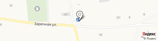 Продовольственный магазин на карте Новотырышкино