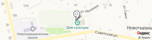 ALEKSA на карте Новотырышкино