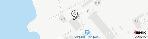 Снаббаза на карте Томска