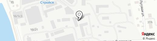 Центр лицензионно-разрешительной работы на карте Томска