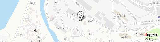 Кузнечная мастерская Антона Малышева на карте Томска