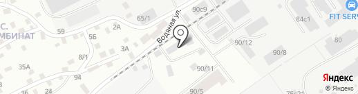 Восход 75 на карте Томска