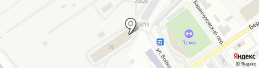 РусьСтрой на карте Томска