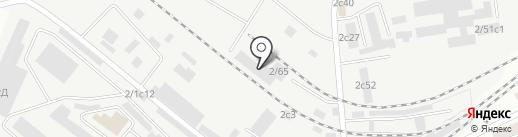 Том-Мет на карте Томска