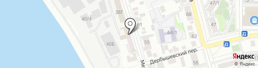 ДЭЛЬТА на карте Томска