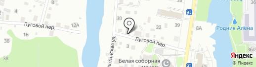 Север на карте Томска