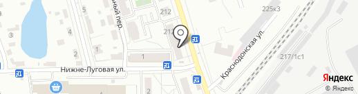 Каприз на карте Томска