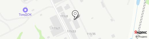 Согра на карте Томска