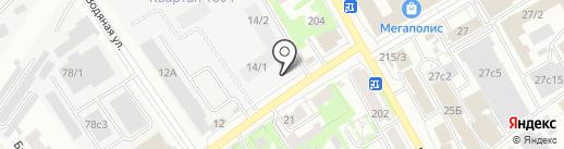 Томская рыбная компания на карте Томска