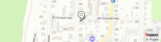 Участковый пункт полиции на карте Томска