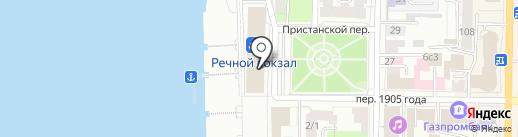 Вавилон на карте Томска