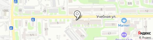 Аванта на карте Томска