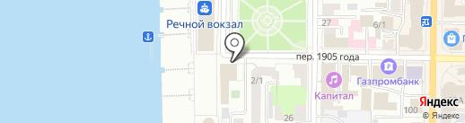 33 пингвина на карте Томска