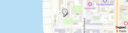 Центр ДОЛ на карте Томска