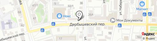 SNEGOVIK на карте Томска