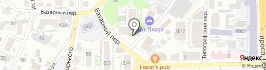 Лека на карте Томска