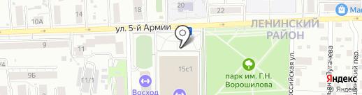 БЕРКУТ на карте Томска