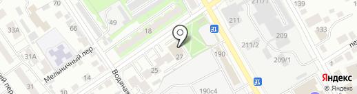 Ассоциация по сертификации, метрологии и экспертизе на карте Томска