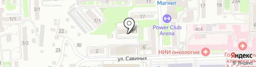 Spezvision на карте Томска