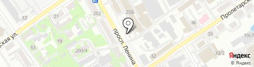 Абат-Сервис на карте Томска