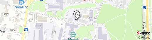 Сибирский государственный медицинский университет на карте Томска