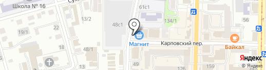 РСТТомск на карте Томска