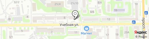 Дамские Штучки на карте Томска