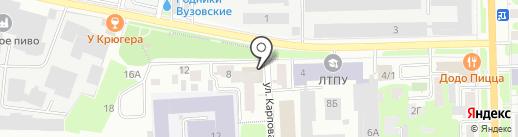 Бастион на карте Томска
