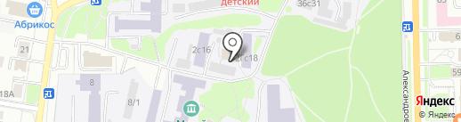 Английский Пациент на карте Томска