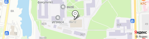 Универспорт на карте Томска