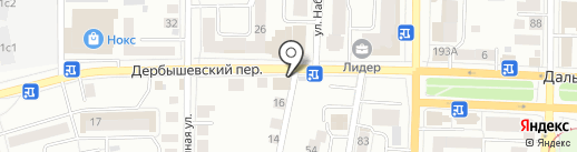 Х-елп на карте Томска
