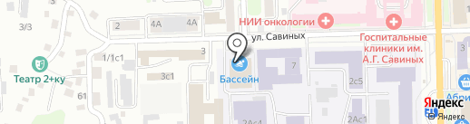 ТПУшный на карте Томска