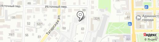 Домстрой на карте Томска