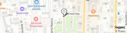 Хмельной бар на карте Томска