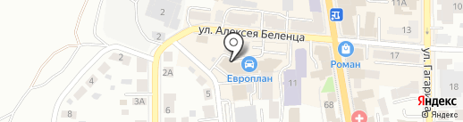 ME на карте Томска
