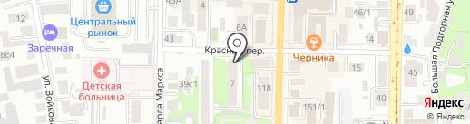 Фантазия на карте Томска