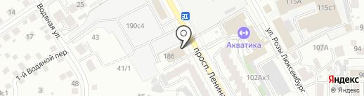 ТомскТехИнвентаризация на карте Томска