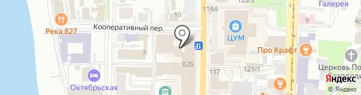 Доброе Сердце на карте Томска