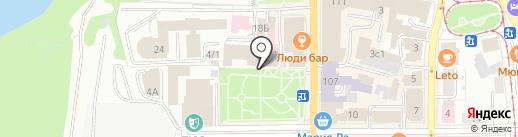 Time CHEF на карте Томска