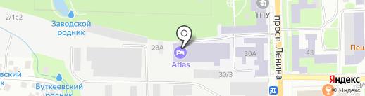 Антресоль на карте Томска