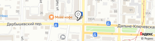 Светлое & Темное на карте Томска