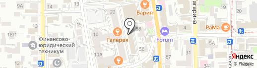 Антрекот на карте Томска