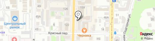 Чудо-Нить на карте Томска