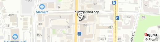 СтройКомфорт на карте Томска