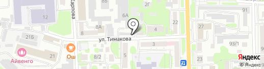 Антенн-Мастер на карте Томска