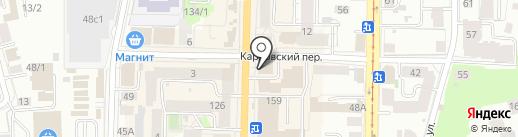 Центрофинанс Групп на карте Томска