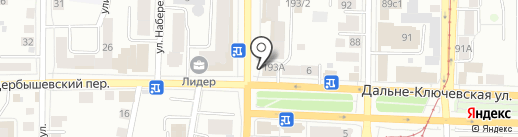 ЭЛБИ на карте Томска