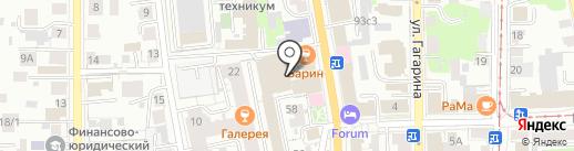 Гринвич на карте Томска