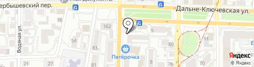 L. A. на карте Томска