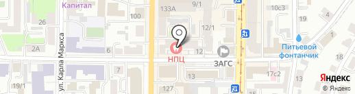 Анекс Тур на карте Томска